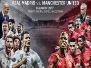 Bóng đá - Siêu cúp châu Âu: MU lấy gì đấu Ronaldo & Real?