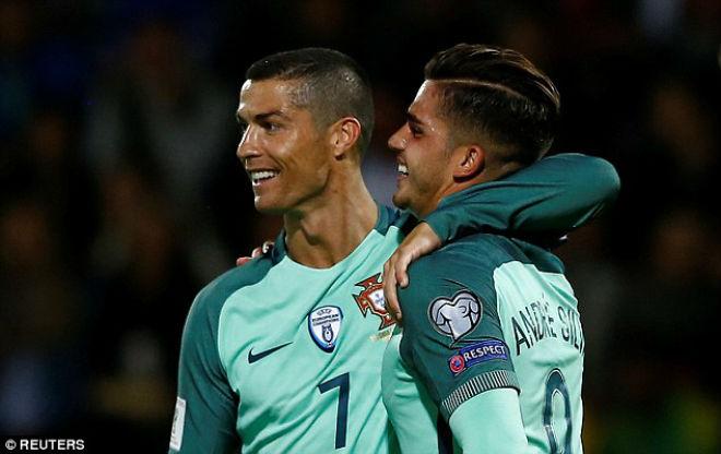 Latvia - Bồ Đào Nha: Tan nát vì Ronaldo (vòng loại World Cup 2018)