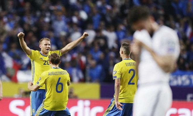 Thụy Điển - Pháp: Đại địa chấn phút bù giờ