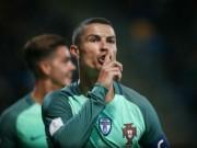 """Bóng đá - Ronaldo tỏa sáng trước """"tý hon"""", vững vàng Vua phá lưới"""