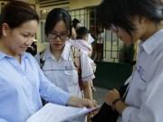 Thi vào lớp 10 ở Hà Nội: Phát hiện trường hợp thi hộ môn Toán