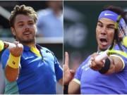 """Thể thao - Roland Garros: """"Vua chung kết"""" Wawrinka cản Nadal """"ăn 10"""""""