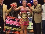 Thể thao - Muay Thái: Nữ võ sỹ chuyển giới đánh đấng nam nhi tối mặt