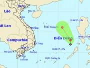 Tin tức trong ngày - Xuất hiện áp thấp nhiệt đới mạnh cấp 6 trên Biển Đông