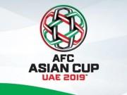 Bóng đá - Lịch thi đấu bóng đá Việt Nam ở vòng loại Asian Cup 2019