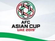 Kết quả bóng đá vòng loại Asian Cup 2019