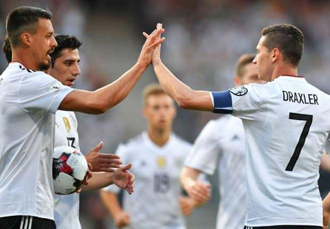 Đức - San Marino: Hat-trick & đại tiệc 7 bàn thắng - 1