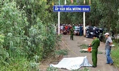 Tin mới nhất vụ doanh nhân giết người chở xác từ Sài Gòn xuống Long An