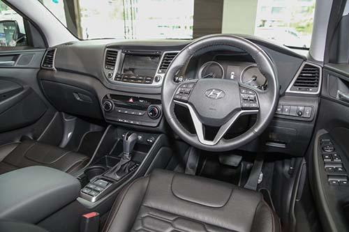 Hyundai Tucson Turbo 2017 có giá 775 triệu đồng - 3