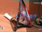 Nadal 3 lần cứu bóng không tưởng, Wawrinka đập vợt nát bét