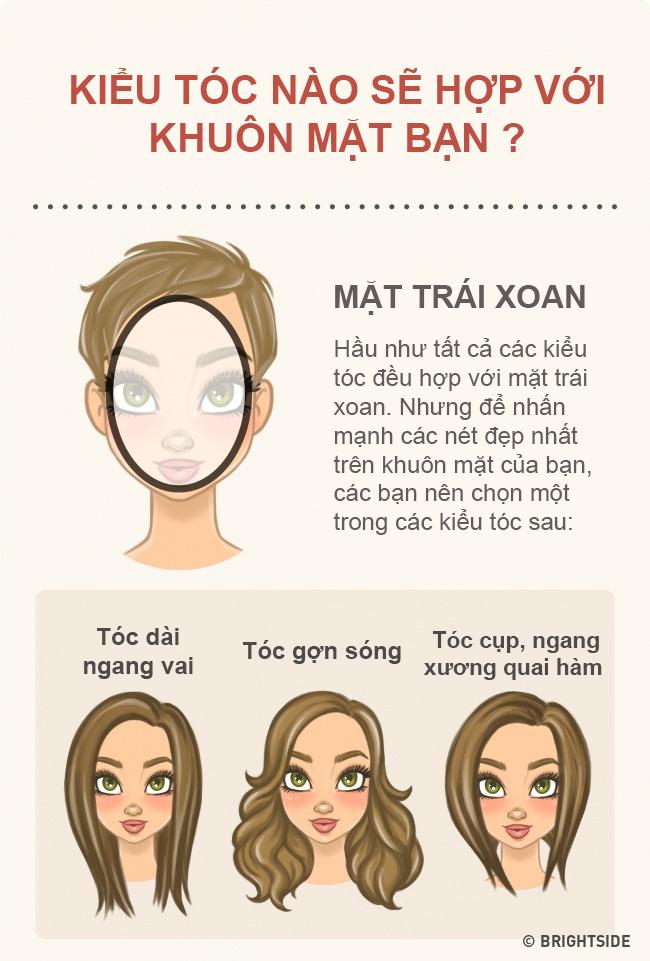 """Chọn kiểu tóc phù hợp với khuôn mặt thì """"vịt"""" cũng hóa """"thiên nga"""" - 1"""