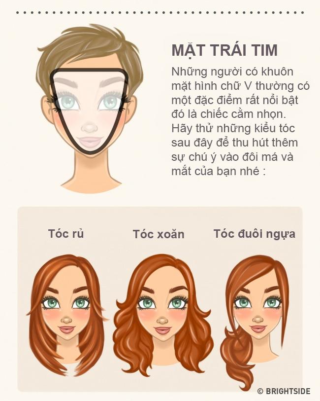 """Chọn kiểu tóc phù hợp với khuôn mặt thì """"vịt"""" cũng hóa """"thiên nga"""" - 4"""