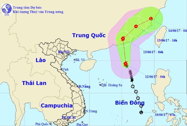 Thông tin mới nhất về cơn bão số 1 trên Biển Đông - 1