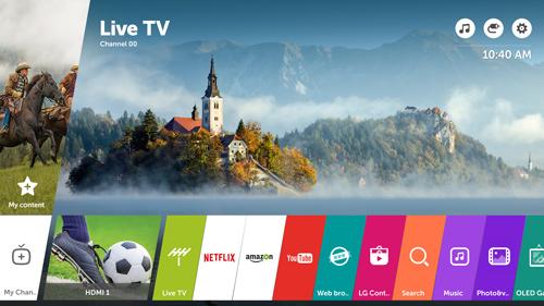 LG tung một loạt dòng TiVi cao cấp 2017 - 2