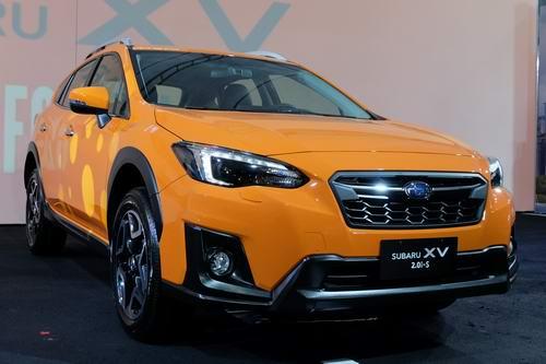 Cận cảnh Subaru XV 2018 sắp về Việt Nam