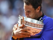 """Nadal vô địch Roland Garros:  """" Rafa đại đế """"  và cú Decima vĩ đại"""