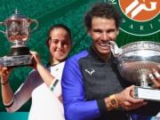 """Bảng xếp hạng tennis 12/6: Nadal vượt Djokovic,  """" Sharapova mới """"  lên số 12"""
