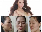 """Vỡ mộng khi ngắm  """" mặt nguyên thủy """"  của loạt gái đẹp Hàn"""