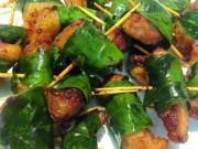 Ẩm thực - Thịt ba chỉ nướng lá chanh thơm nức, ngon không chịu nổi