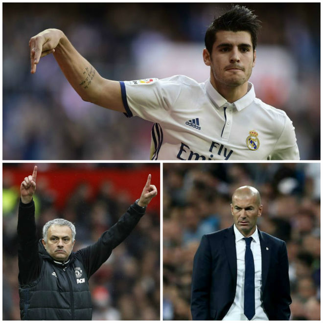 Đòi tới MU: Morata làm loạn Real, gây sự với Zidane