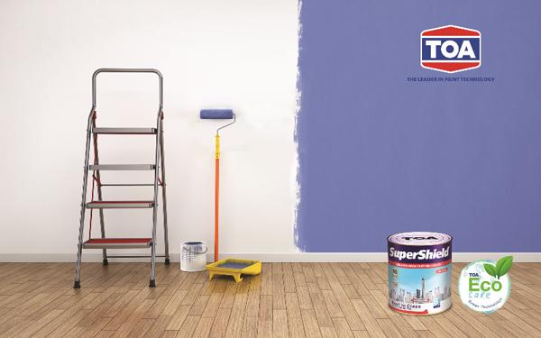 Sơn lại nhà cũ, sơn như thế nào? - 1
