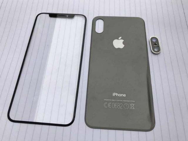 iPhone 8, iPhone 7s đồng loạt xuất hiện, màn hình phủ toàn mặt trước