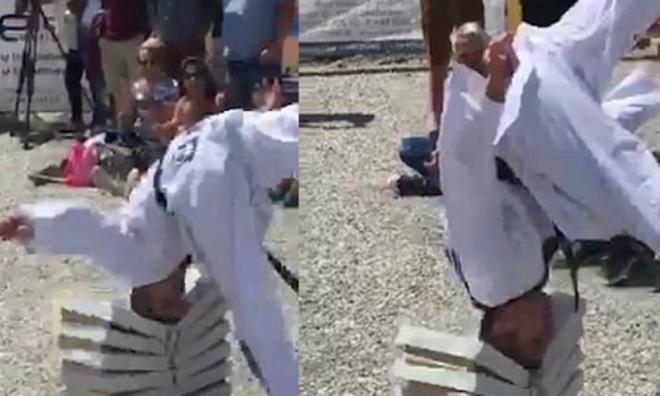 """Taekwondo """"vượt mặt"""" Thiếu Lâm: Võ Trung Quốc """"lại đau"""""""