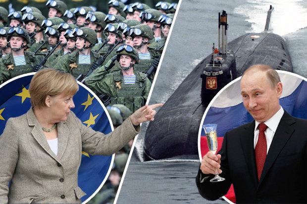 Châu Âu xây dựng đội quân hùng mạnh, sẵn sàng đối đầu Nga - 1