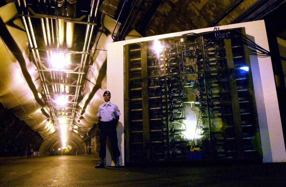 Bên trong hầm chống hạt nhân bí ẩn của giới chức Mỹ - 5