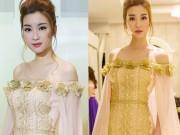 Hoa hậu Mỹ Linh bất ngờ đẹp như nữ thần tại Campuchia