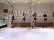 Làm đẹp - Loạn tim vì 4 gái đẹp xứ kim chi mặc quần 5cm nhảy sexy