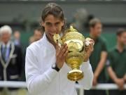 "Rafael Nadal: Vua Roland Garros chỉ là  "" tứ ca ""  ở Wimbledon"