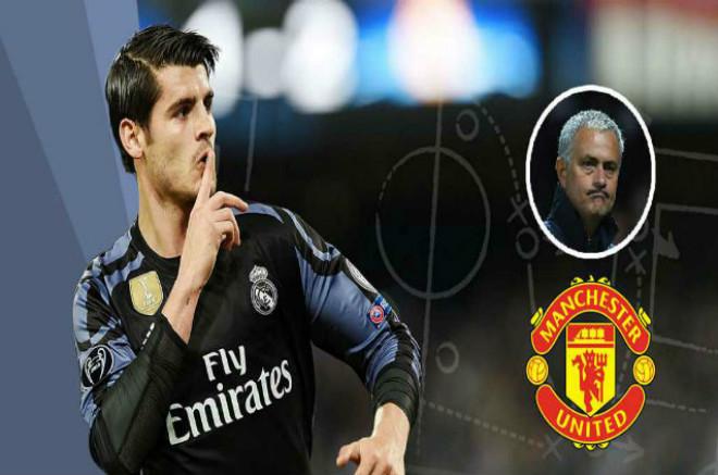"""Chuyển nhượng """"bom tấn"""" Morata: MU muốn, Real vòi thêm tiền - 1"""