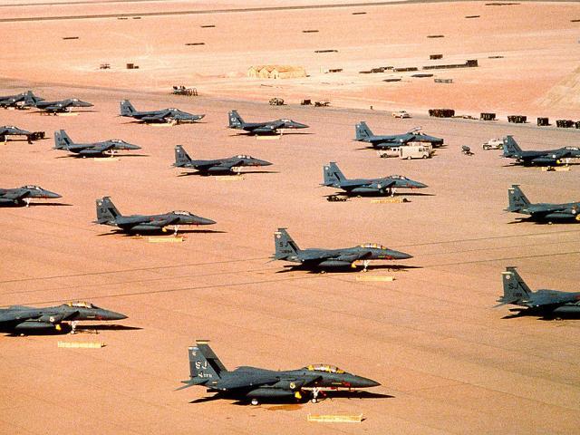 """Chiến tranh vùng Vịnh: """"Bão táp sa mạc"""" vùi dập Iraq"""