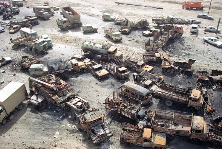 """Chiến tranh vùng Vịnh: """"Bão táp sa mạc"""" vùi dập Iraq - 9"""