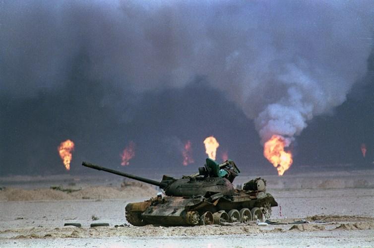 """Chiến tranh vùng Vịnh: """"Bão táp sa mạc"""" vùi dập Iraq - 11"""