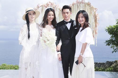 Đi dự đám cưới, Triệu Vy xinh hết phần cô dâu - 8