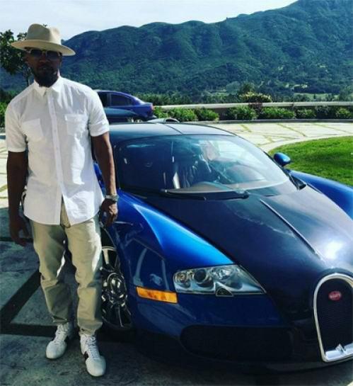 Sao 'Người nhện 2' biến siêu xe Bugatti thành thỏi vàng di động - 2