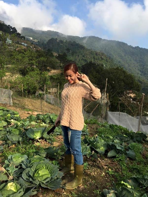 Kiếm tiền tỷ, vì sao Mỹ Linh, Thu Phương vẫn thích trồng rau, nuôi gà? - 12