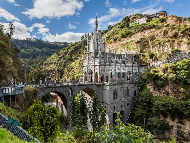 Khu bảo tồn Las Lajas ở Narino, Colombia.