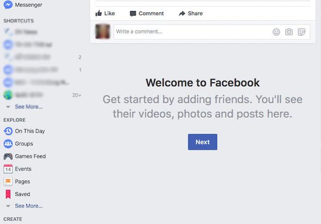 """Trang News Feed của Facebook bị """"đơ"""" trên toàn cầu - 2"""