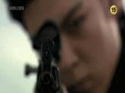 Cảnh T.O.P (Big Bang) hóa sát thủ bắn tỉa cực chất