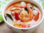 Ẩm thực - Cách làm súp tôm thịt nước dừa kiểu Thái ngon không cưỡng nổi