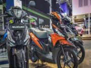 Thế giới xe - Ngắm xe ga 2017 Suzuki Address Playful giá hơn 24,8 triệu đồng