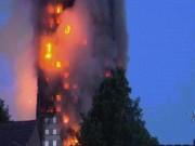 Thế giới - Nạn nhân vụ cháy London ôm nệm nhảy từ tầng cao xuống