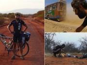 Tay đua vĩ đại: Hạ cướp, xuyên bom đạn vượt 18.000km bằng... xe đạp