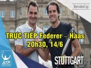 Thể thao - Chi tiết Federer - Haas: Bản lĩnh cuối trận (KT)
