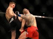 """UFC: Ra đòn khủng khiếp, đối thủ đổ gục  """" răng môi lẫn lộn """""""