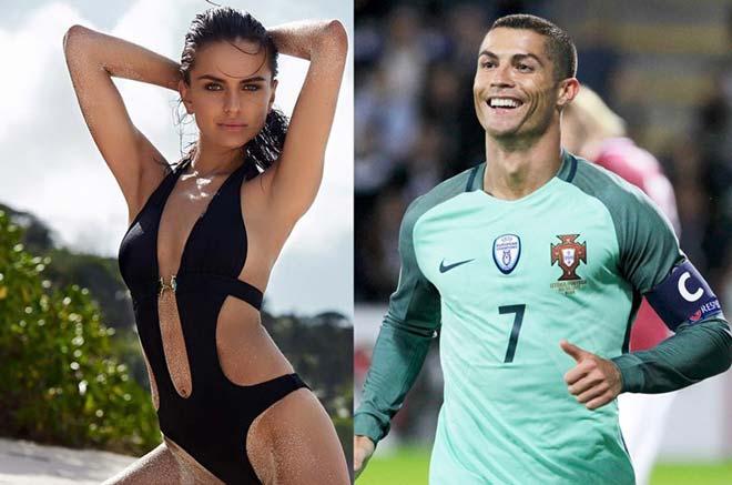 """Ronaldo bị tố trốn thuế, vẫn có thì giờ """"đò đưa"""" siêu mẫu - 2"""