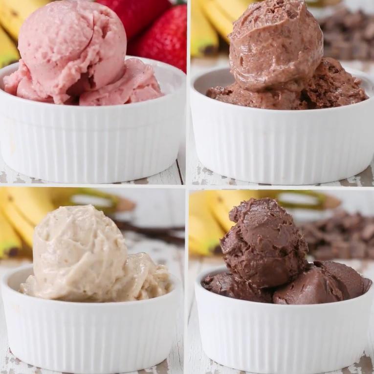 Hô biến chuối thành món kem mềm xốp ngon tuyệt - 5